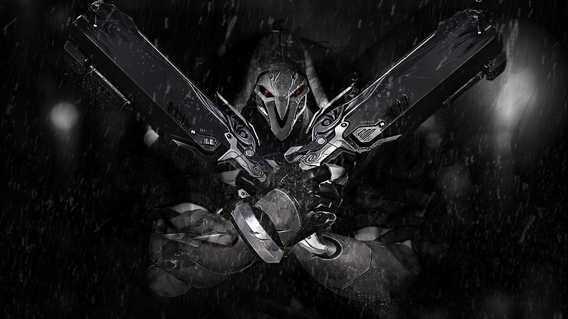 overwatch wallpaper reaper