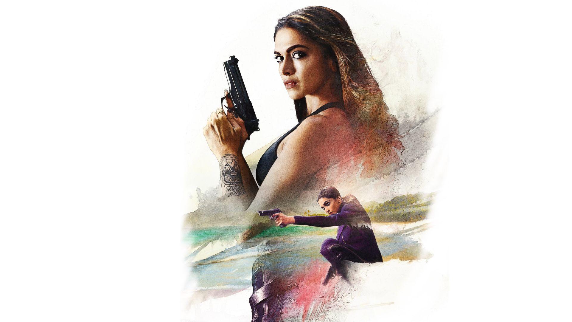 Wallpaper Deepika padukone as serena in xxx return of xander cage movie