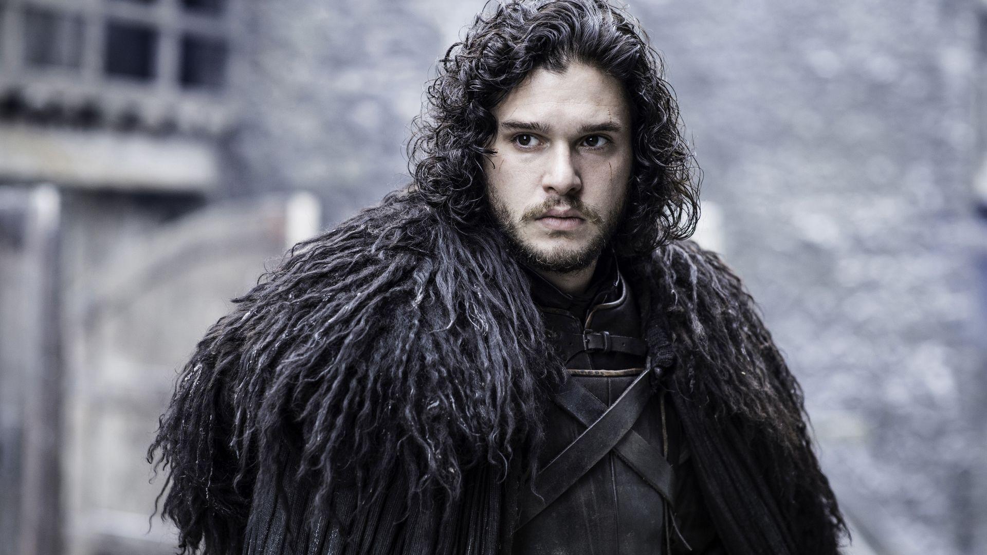 Wallpaper Kit Harington as Jon Snow of game of thrones