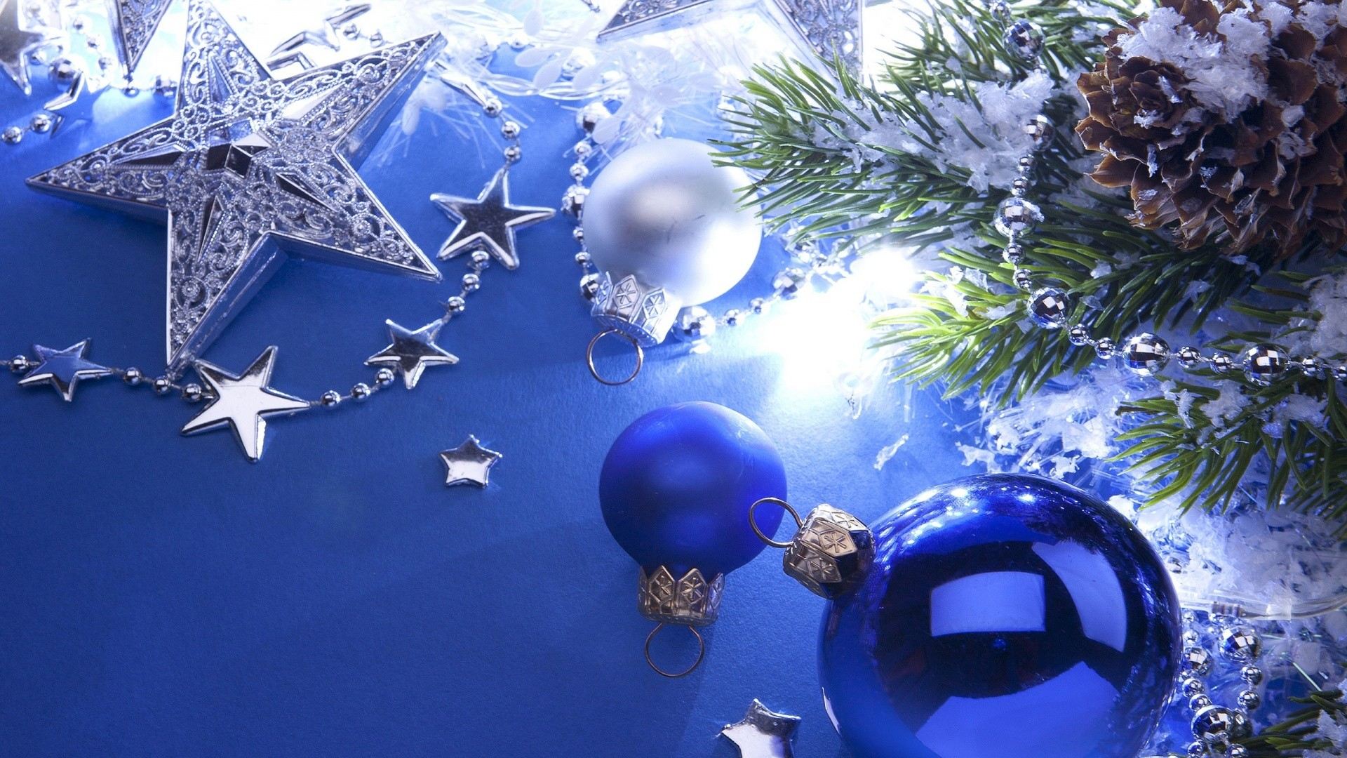 Wallpaper Christmas decoration