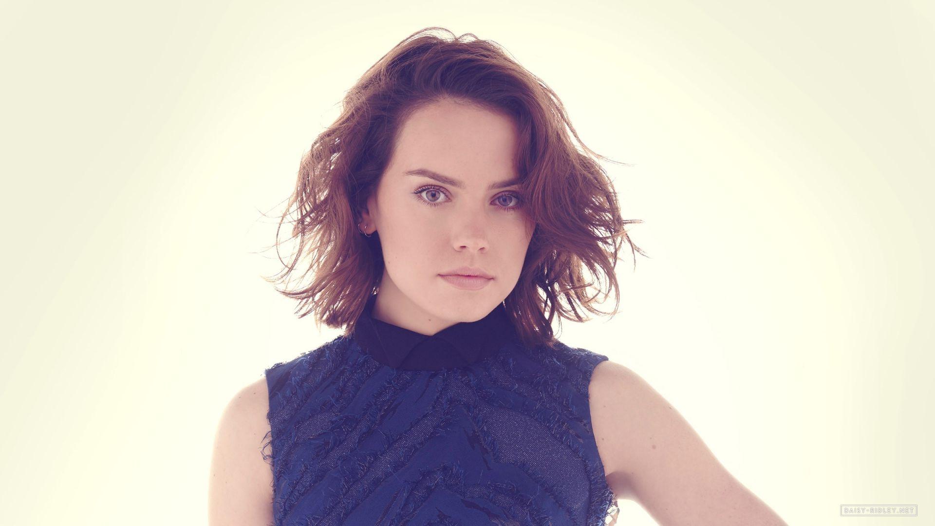 Wallpaper Daisy Ridley, actress, short hair