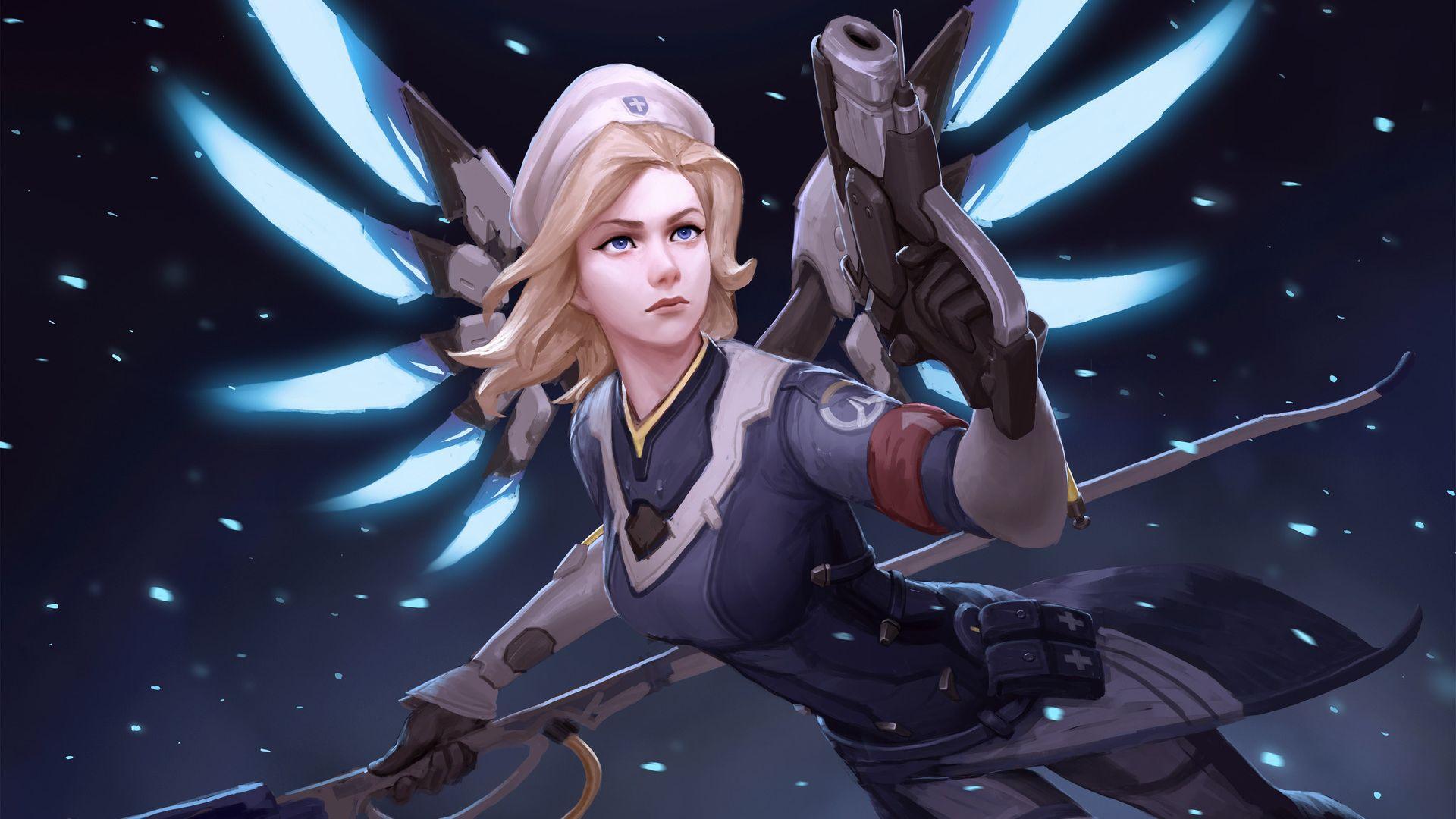 mercy fly overwatch