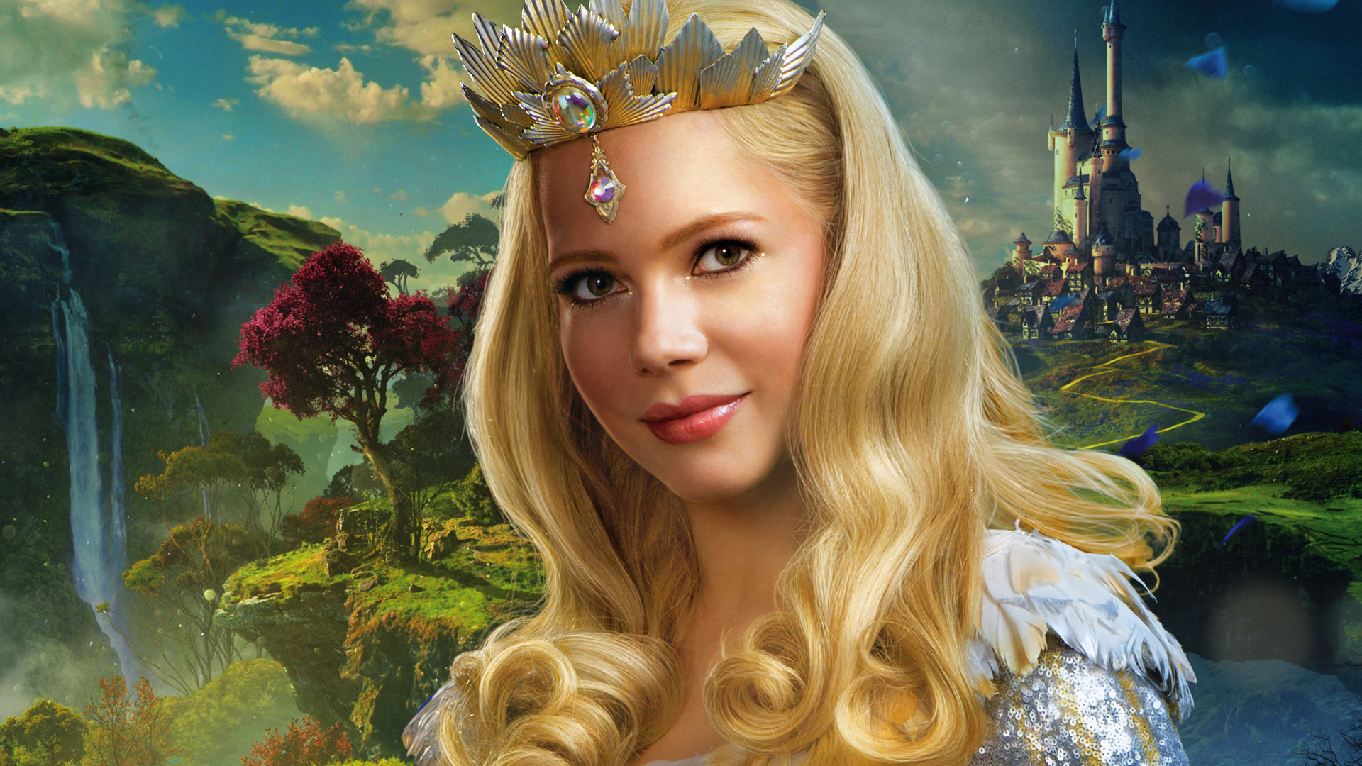 Wallpaper Michelle Williams, Actress, Oz the Great and Powerful, 2013 movie