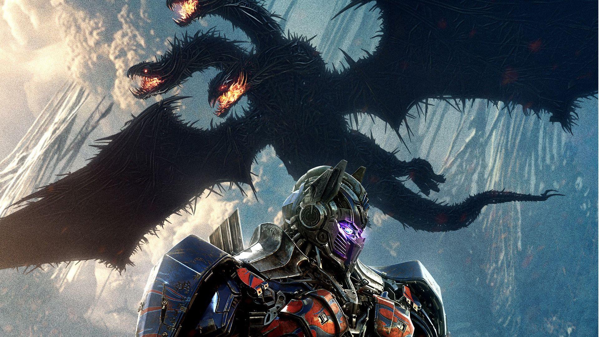 Wallpaper Dragon, Optimus Prime, Transformers: The Last Knight, movie