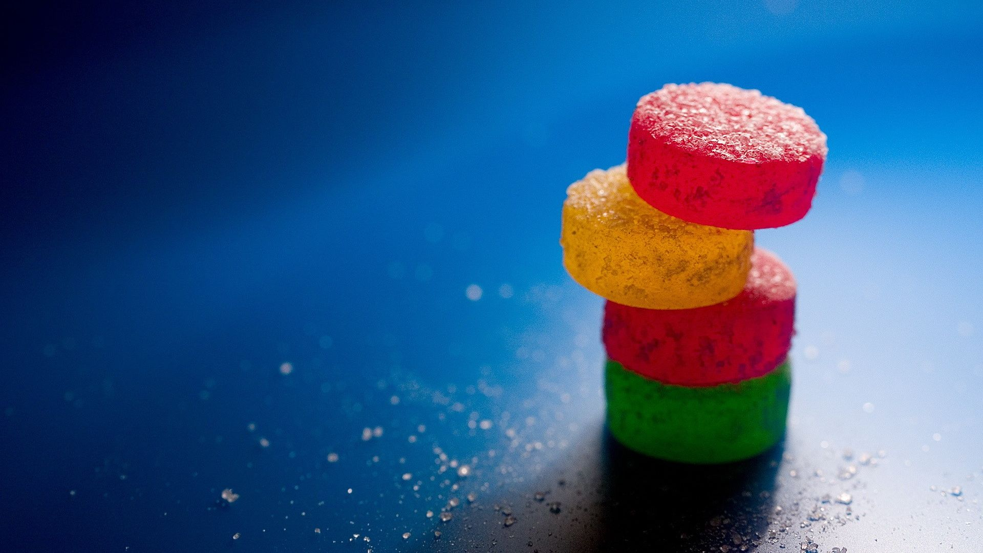 Wallpaper Colorful sweets candy