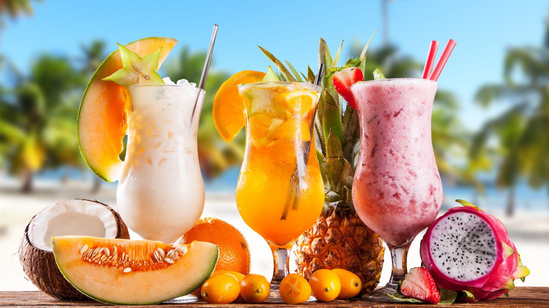 Wallpaper Cocktail drinks, summer