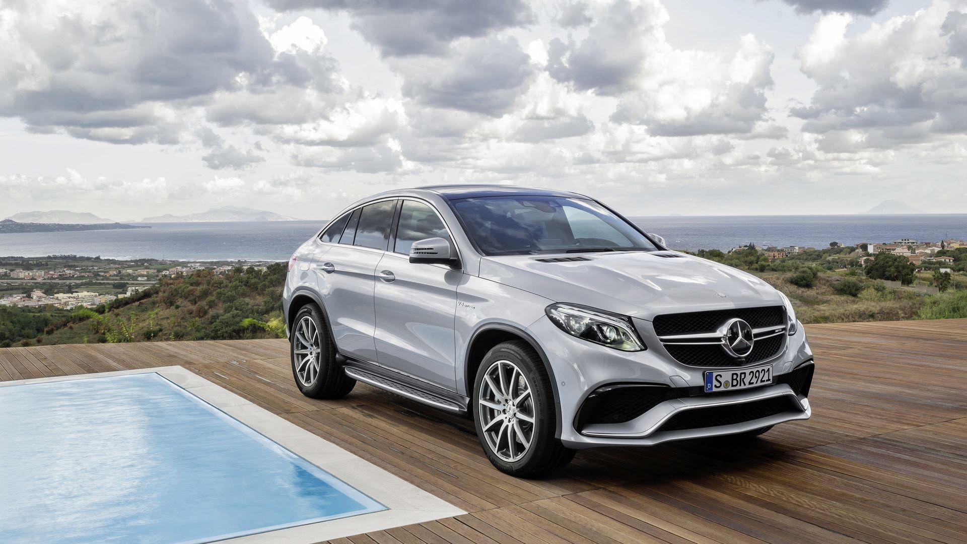 Wallpaper Mercedes-Benz GL-Class luxury car