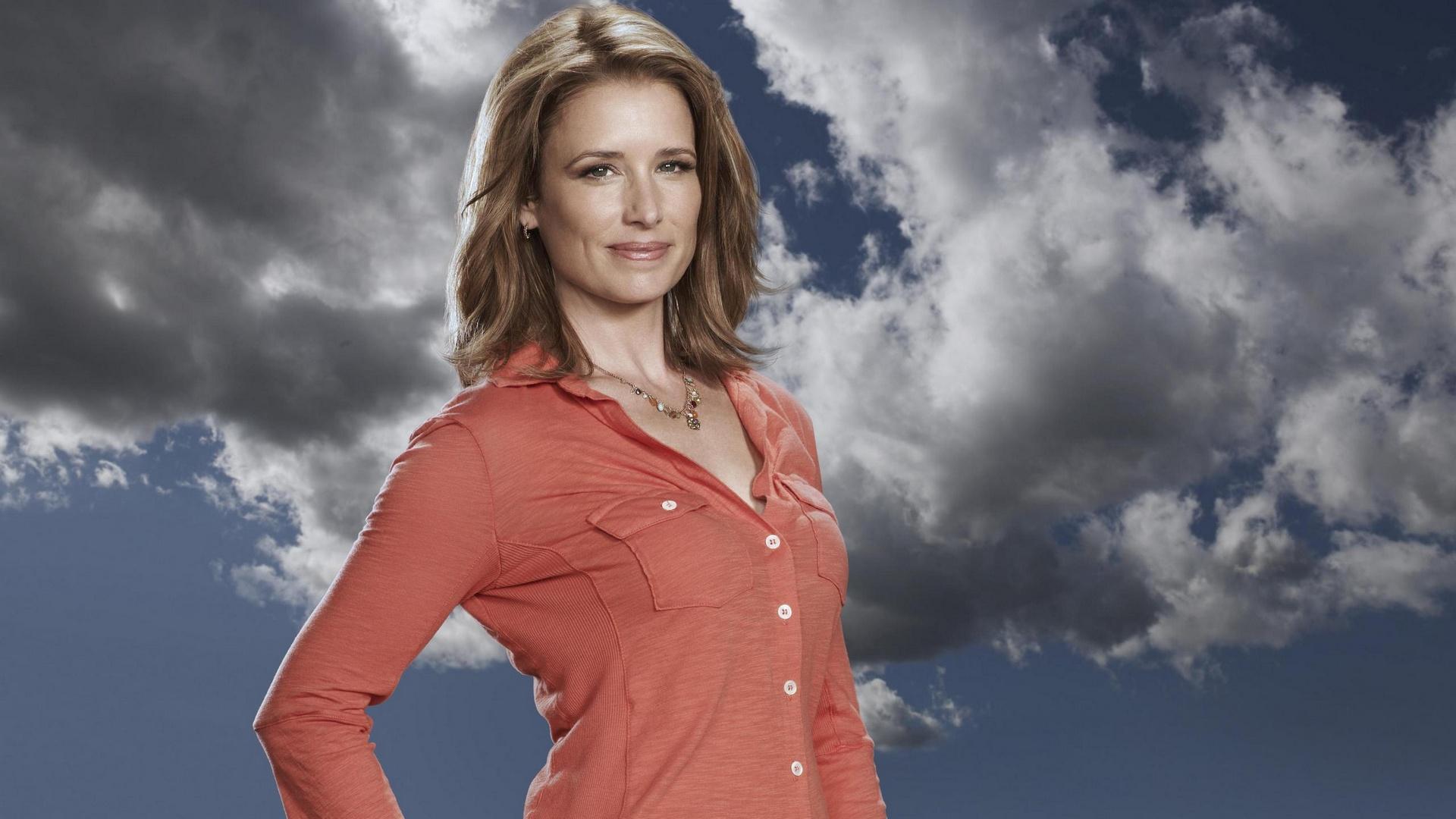 Wallpaper Anger Management TV show, Shawnee Smith, blonde, actress