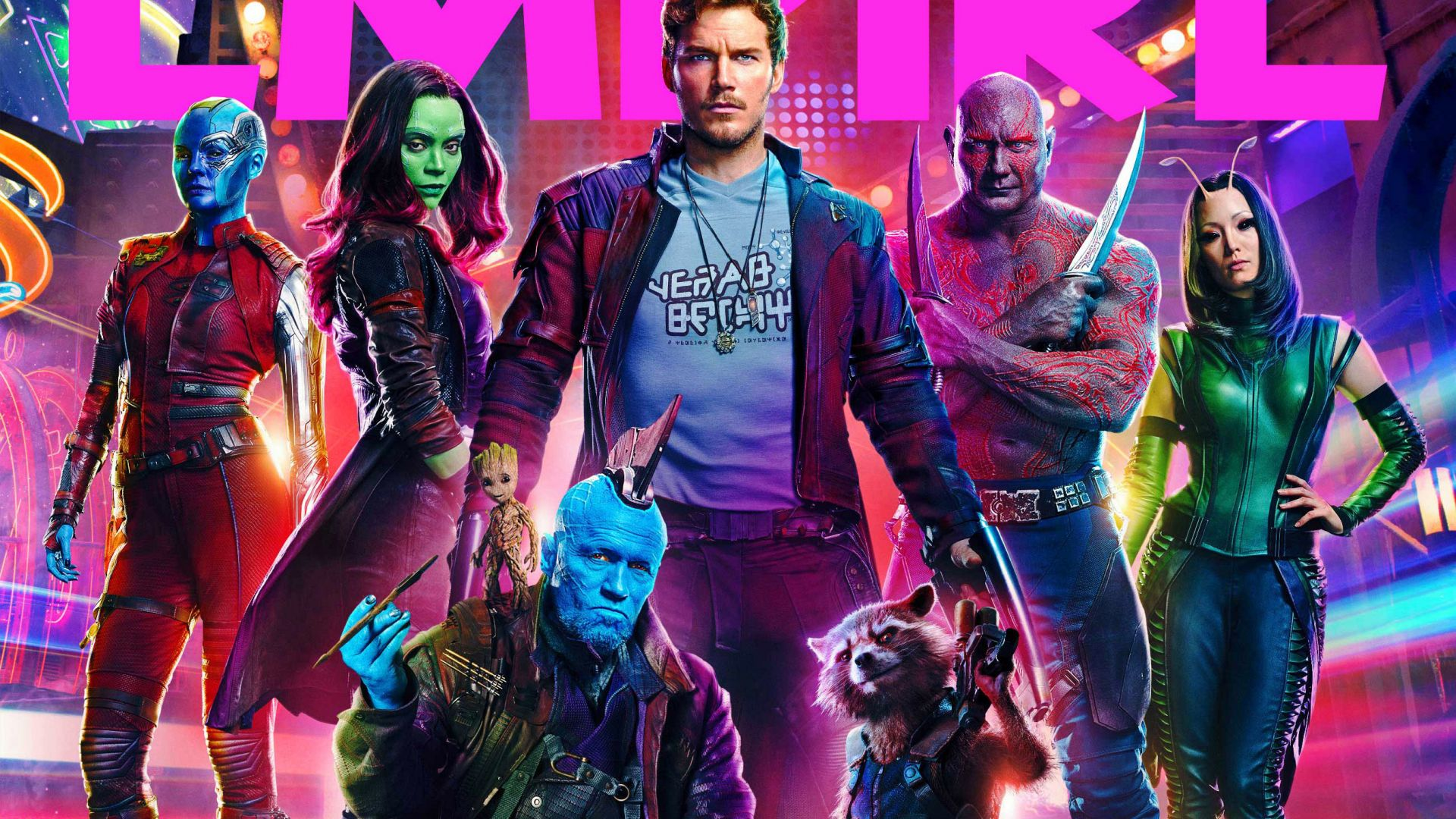 Guardians Of The Galaxy Vol 2 Movie All Cast Marvel Comics Wallpaper