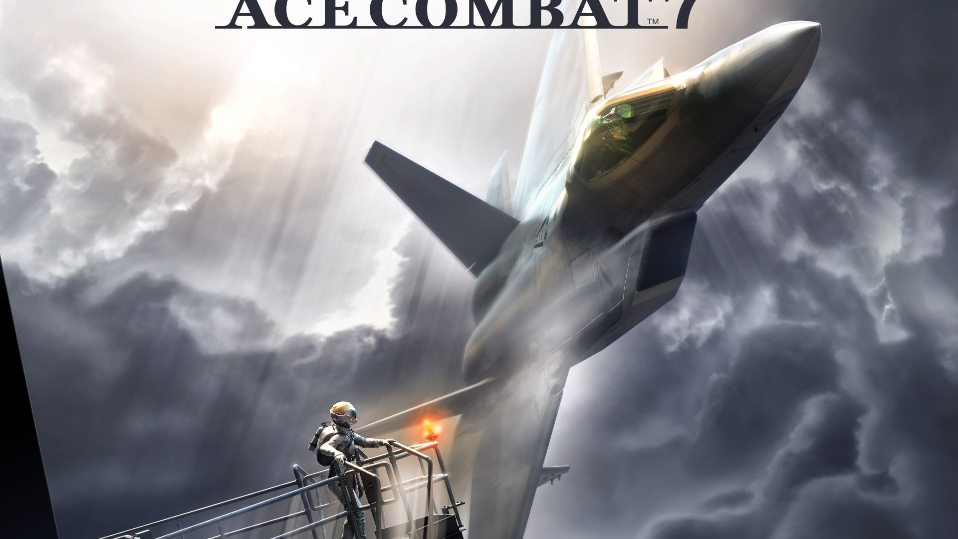 Wallpaper Ace Combat 7: Skies Unknow, fighter plane, aircraft, 5k