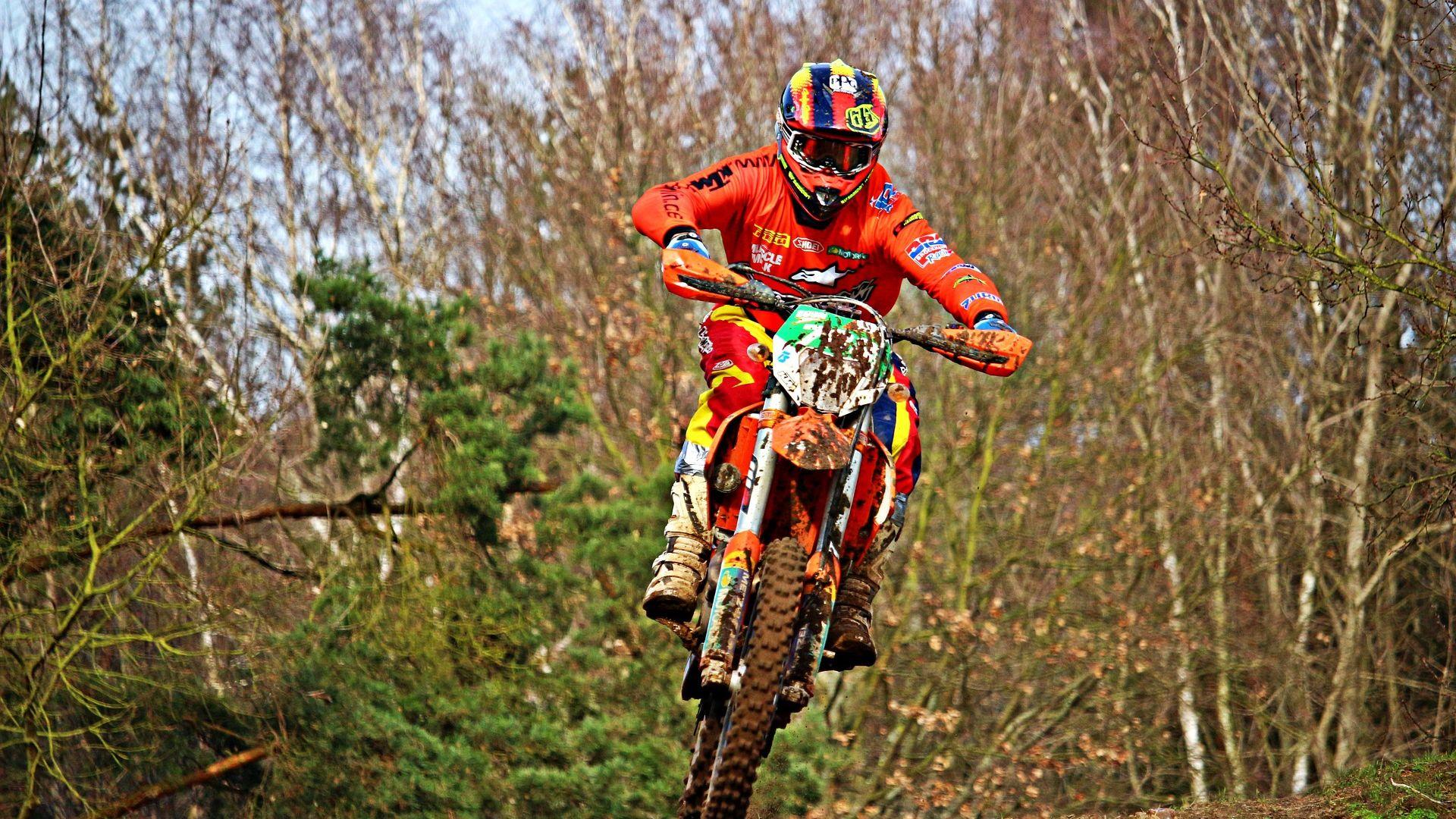 Wallpaper Motocross, bike, sports, race