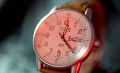 Wrist watch, close up