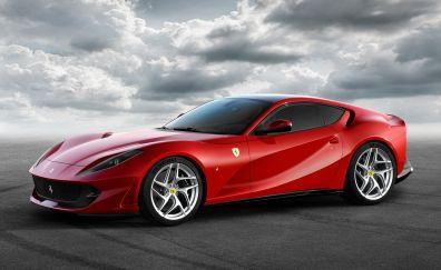 Ferrari 812 superfast car, 2018, 5k