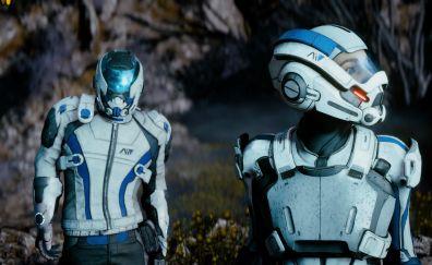 Mass Effect: andromeda 4k gameplay