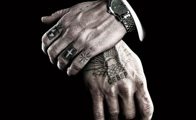 Eastern Promises, 2007 movie, hands, poster