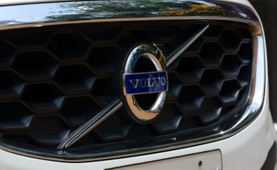 Volvo logo, cars