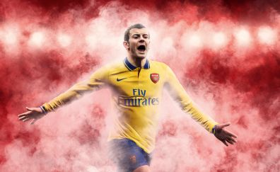Arsenal F.C, football, sports, art, 4k