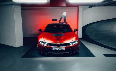 BMW i8 AC Schnitzer Edition car, 2017, 4k