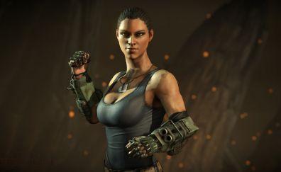 Jacqui Briggs, mortal kombat x, video game