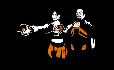 Gordon Freeman, Half-Life 2, game, minimal