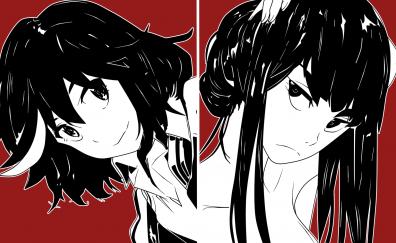 Satsuki Kiryūin, Ryūko Matoi, Kill la Kill, anime girl