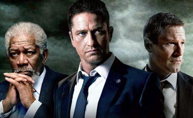 London Has Fallen, 2016 movie, Aaron Eckhart, Morgan Freeman, Gerard Butler