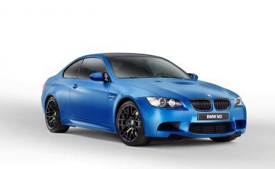 BMW M3 Blue car