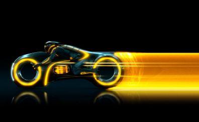 Tron Legacy, futuristic bike