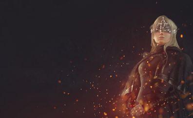 Dark Souls III, game, girl warrior