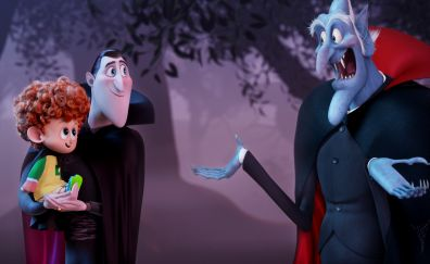 Hotel Transylvania 3: Summer Vacation, animation movie, vampire, 4k