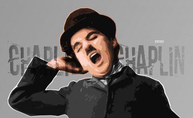 Charlie Chaplin, actor, art