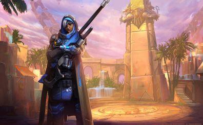 Ana, overwatch, sniper, online game