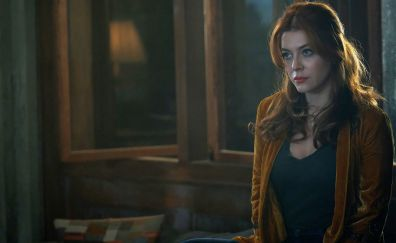 Elena Satine, red head, the gifted