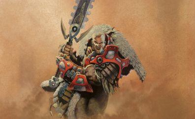 Magic: The Gathering, warrior, big sword