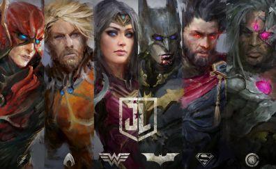 Justice league, fanart
