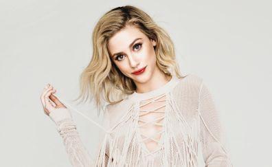Lili Reinhart, blonde, celebrity, 4k