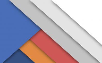 Abstract, stripes, digital art, material design