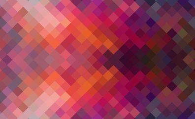 Colorful, squares, pattern, abstract