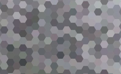 Hexagons, pattern, abstract, 5k