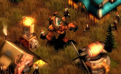 They are billions, steampunk game