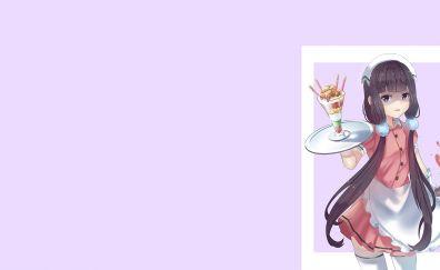 Blend s, anime girl, long hair, Maika Sakuranomiya