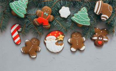 Christmas, cookies, holiday, decorations, 2017, 5k