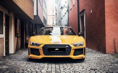 2017 ABT R8 GTR spyder, front, 4k