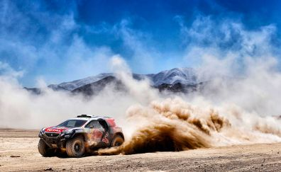 Rallying, dusk, sports car, race