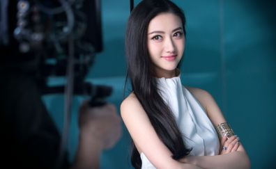 Jing Tian, Chinese actress, Asian celebrity, celebrity, smile