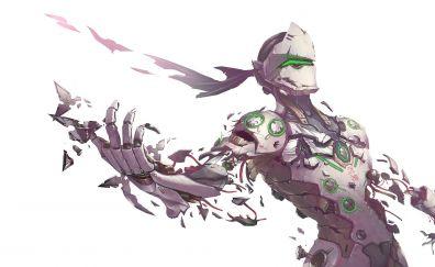 Genji, overwatch, minimal