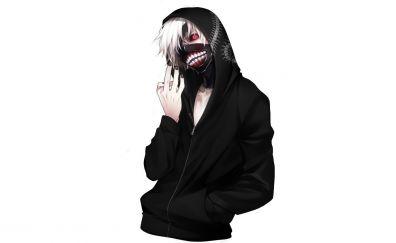 Minimal, anime boy, Ken Kaneki, Tokyo Ghoul
