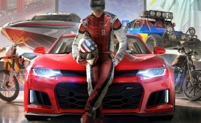 The crew 2, video game, racer
