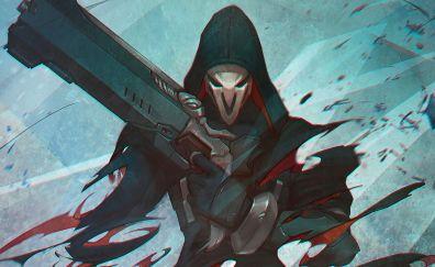 Reaper, gun, overwatch, online game