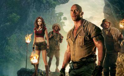 Jumanji: welcome to the jungle, china poster, 4k